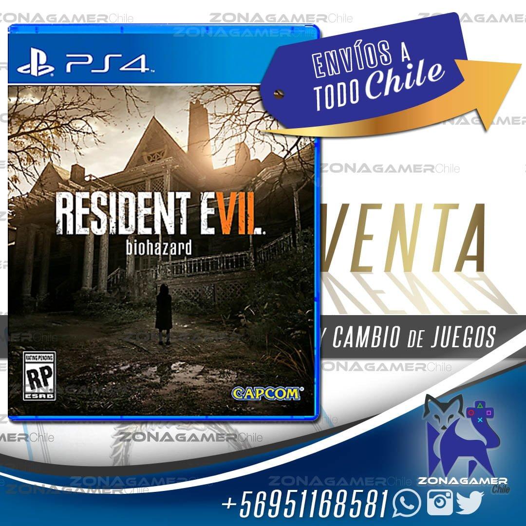 Resident Evil 7 Biohazard Ps4 Playsatation Vr Capcom